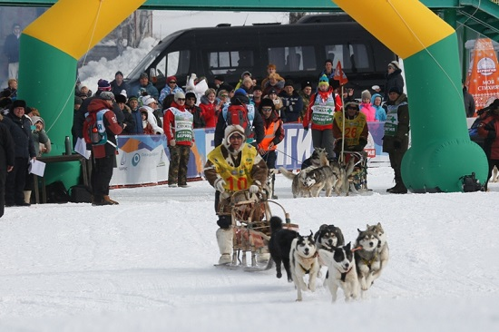 "Sled dog race ""Beringia-2017"" started in Kamchatka"